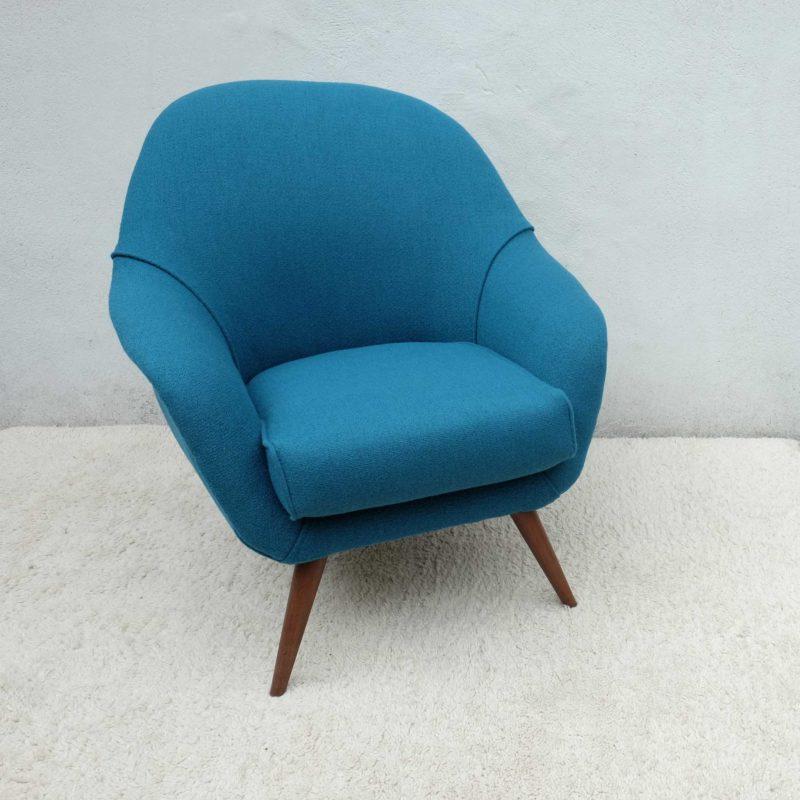 East German Large Club Chair