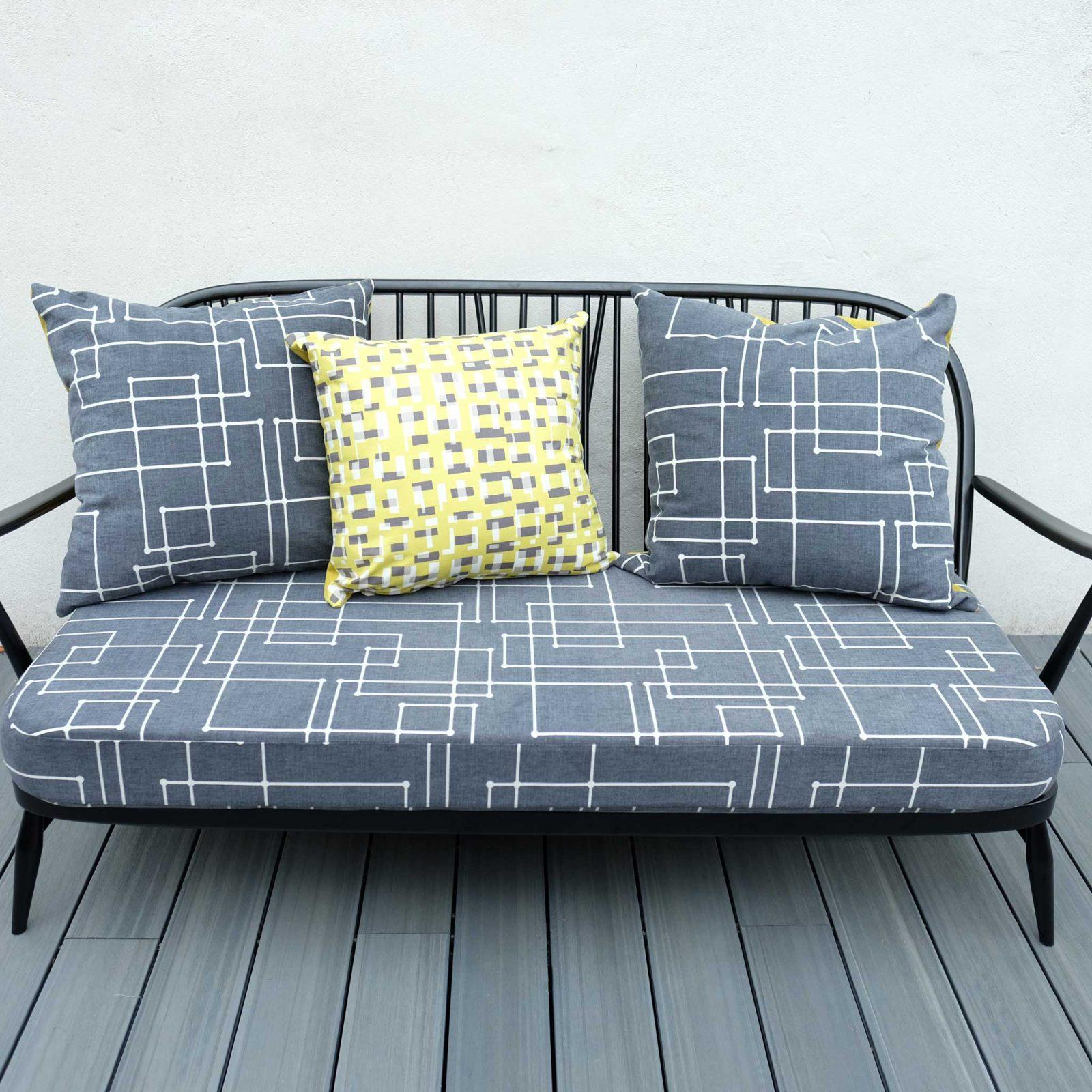 Antique Ercol Sofa: Square Two Furniture