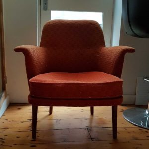 Vintage small chair generic before reupholstering